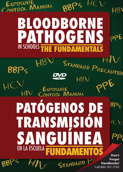 Bloodborne Pathogens In Schools: The Fundamentals – DVD