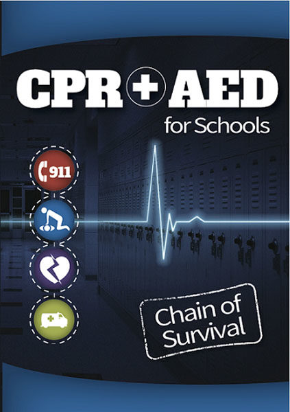 CPR & AED for Schools: Chain of Survival – DVD