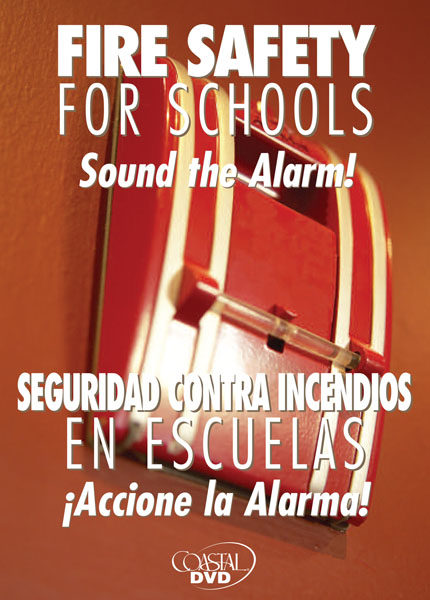 Fire Safety For Schools: Sound The Alarm – DVD