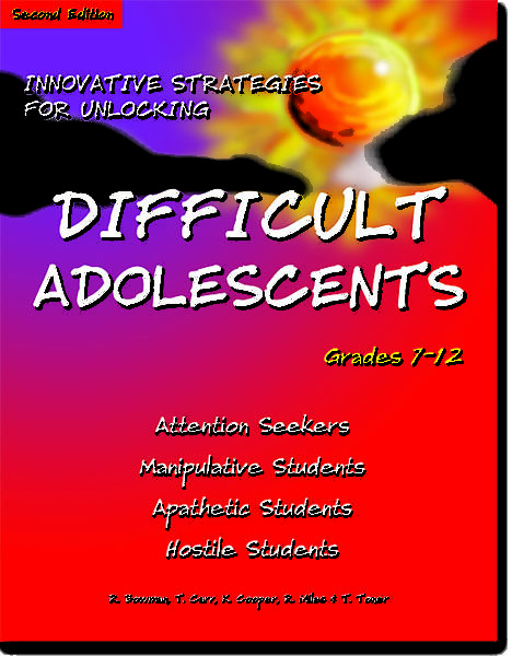 Innovative Strategies for Unlocking Difficult Adolescents by Robert Bowman, Kathy Cooper, Ron Miles, Tom Carr & Tommie Toner