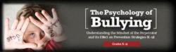 Psychology of Bullying: Mindset of the Perpetrator Webinar –  Single User