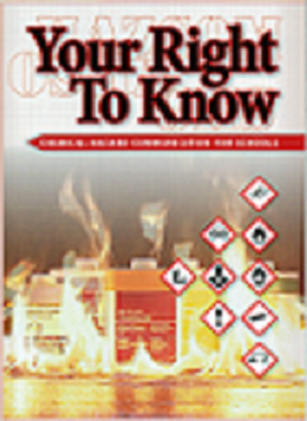 Your Right To Know: Chemical Hazard Communication For Schools – DVD