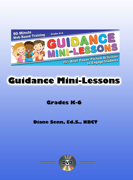 Guidance Mini-Lessons: 25 Power-Packed Activities to Engage Student -  Unlimited Access DVD